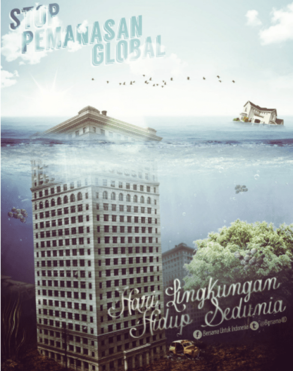 Contoh Poster Global Warming