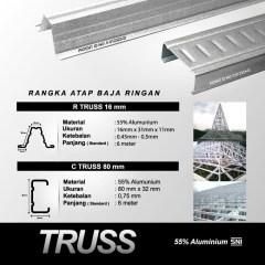 Baja Ringan Truss C75 Material Karya Trussindo Price List Terpasang