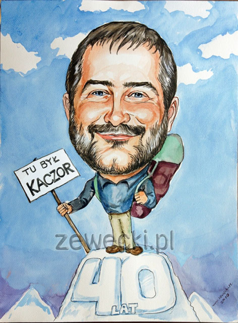 prezent dla kumpla  Karykatura Karykatury Portrety w