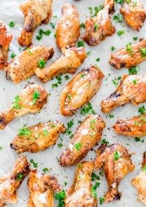 Crispy Baked Salt & Pepper Chicken Wings by Jo Cooks