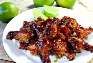 Honey Lime Cajun Wings by Must Love Home
