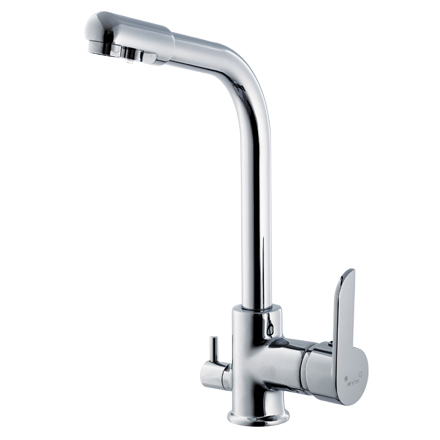 kitchen mixer with water filter faucet
