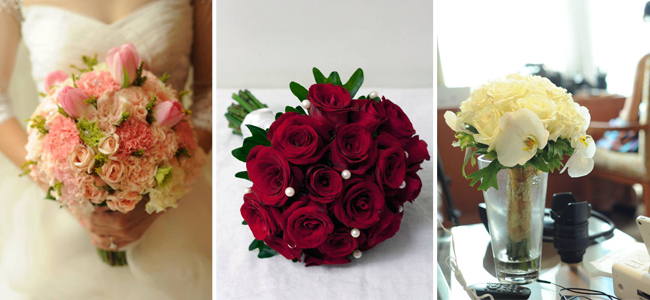 Types Of Bouquets For Your Wedding