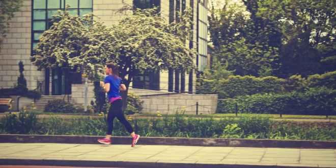bieganie w mieście