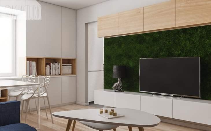małe mieszkanie jak je optycznie powiększyć