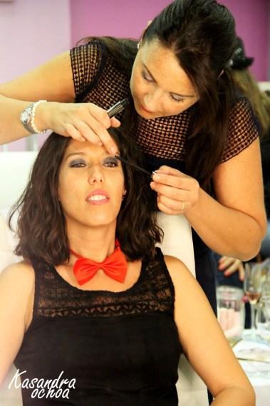 Sesión maquillaje