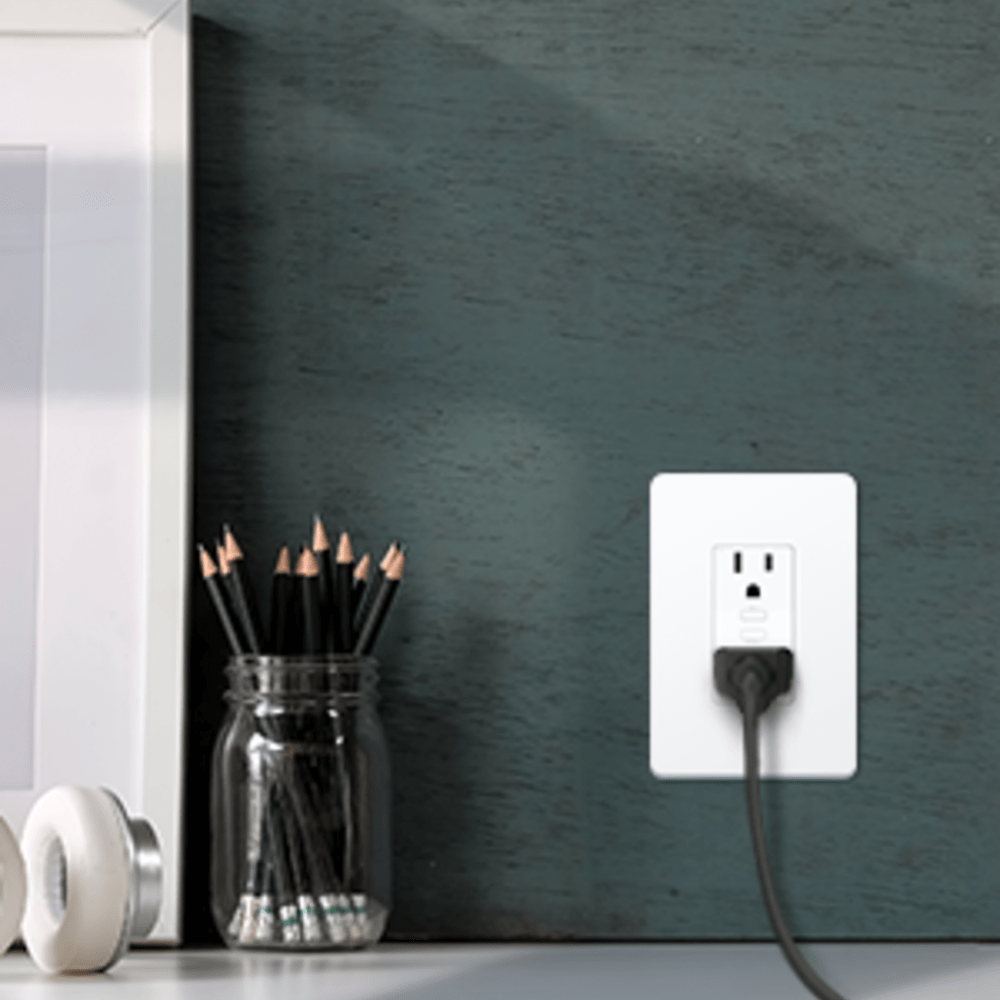 hight resolution of smart in wall outlets