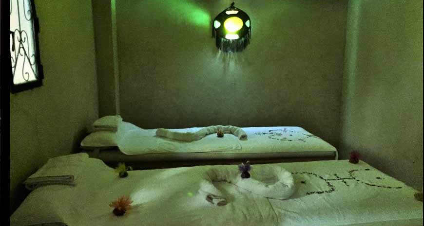 salle de massage bas