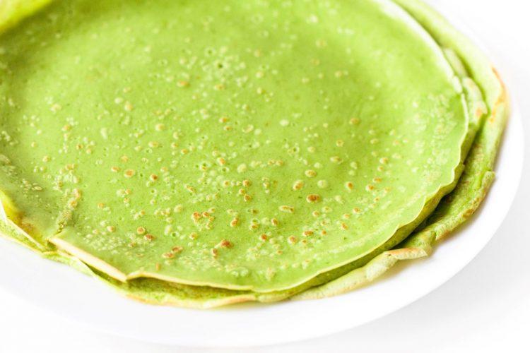 Grüne-Pfannkuchen-Basilikum-Rezept-2