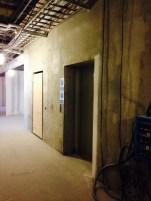 AGV hiss, mycket mindre än dagens hiss