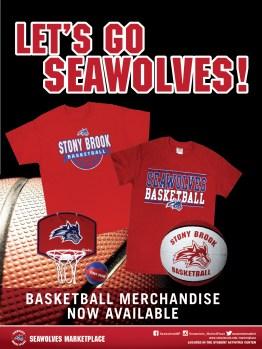 Stony Brook Seawolves Basketball Merchandise