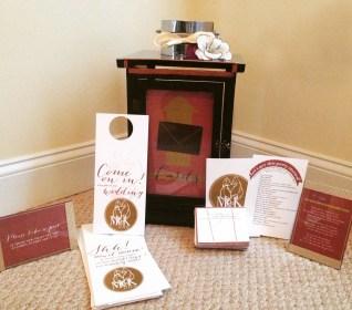 Wedding Stationery for Event Decor