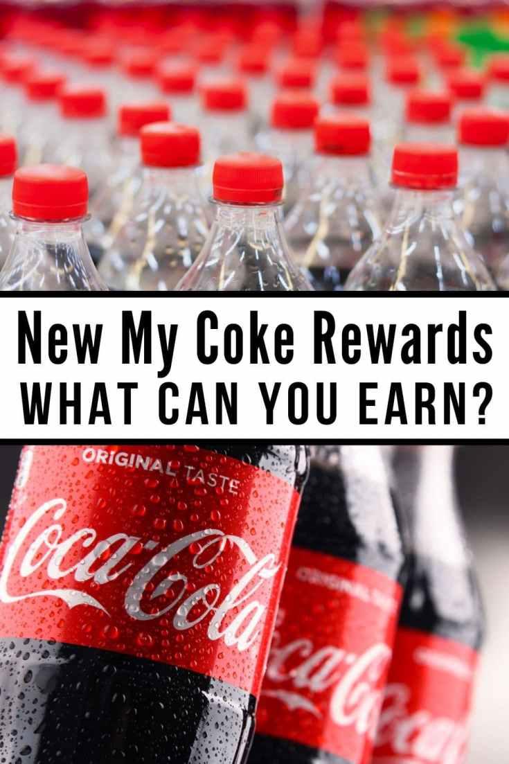 mycokerewards collage of 20 oz coke bottles