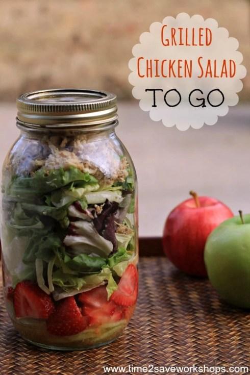 grilled chicken salad to go2