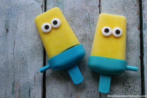Minion Pops 1-2