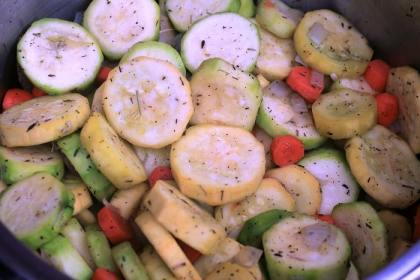 veggies for chickensoup