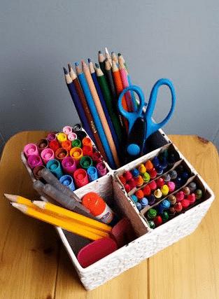 homework-caddy-supplies