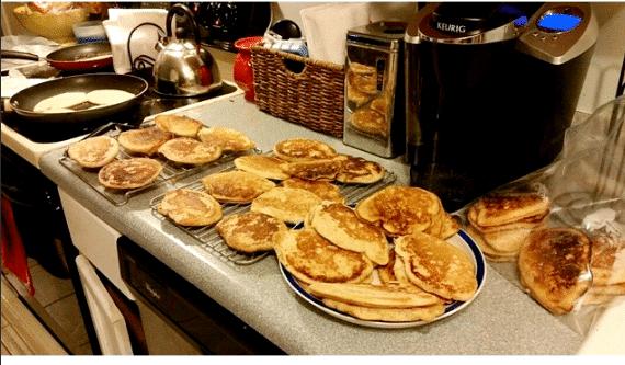 freezer-pancakes-cooking