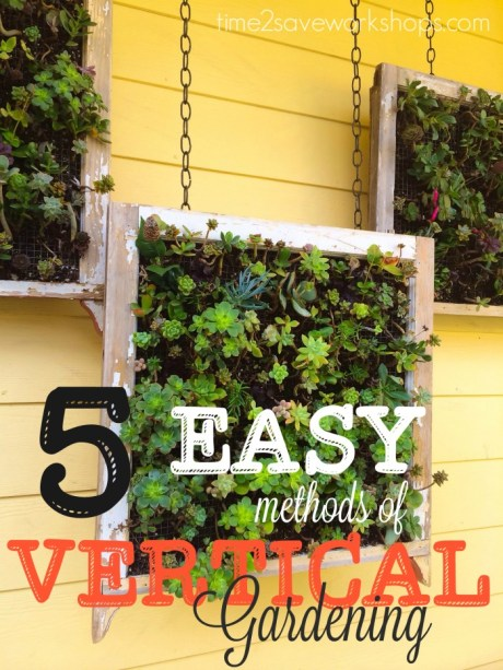 vertical gardening methods
