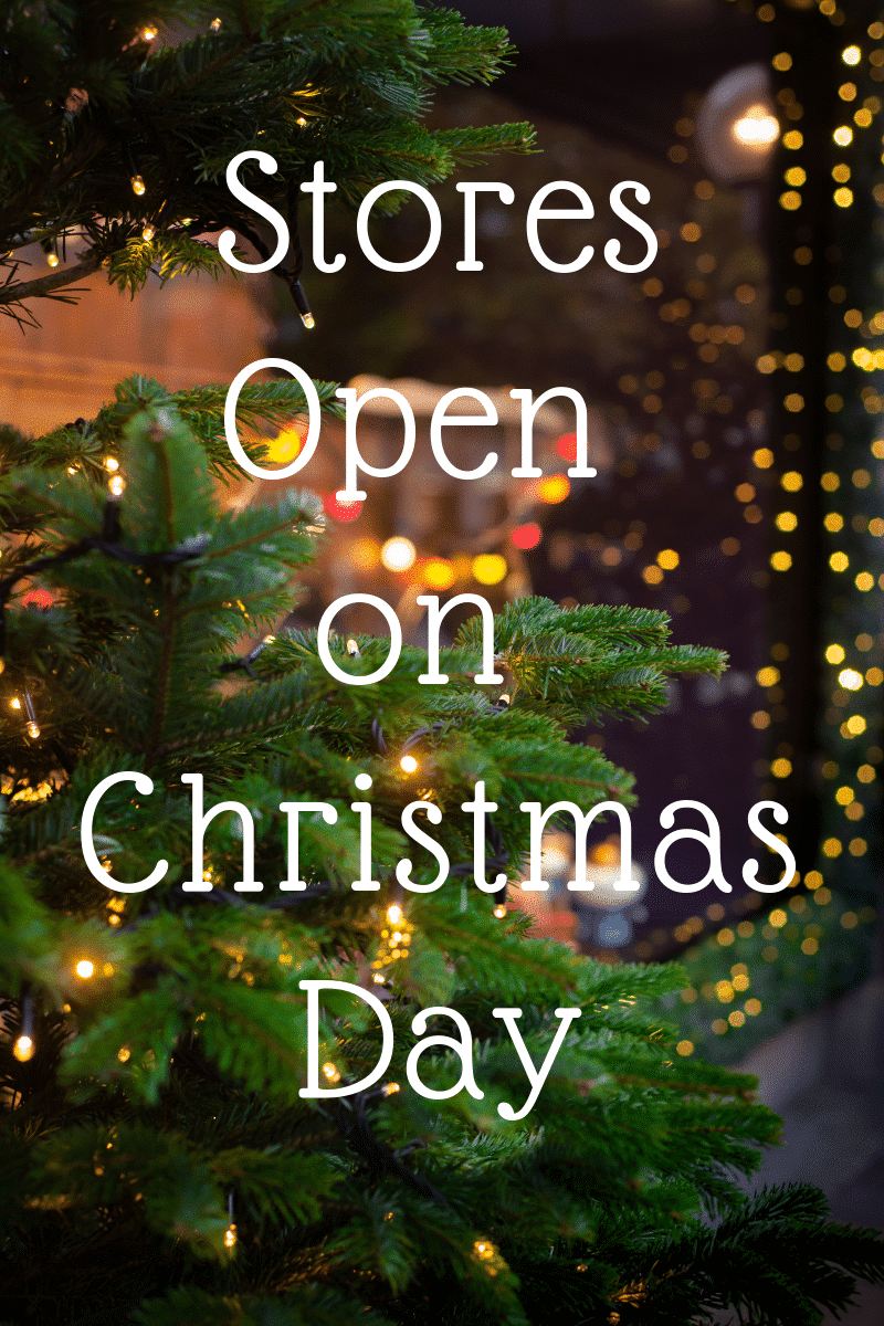 Open Christmas Day.Christmas Day 2018 List Of Stores Open Kasey Trenum