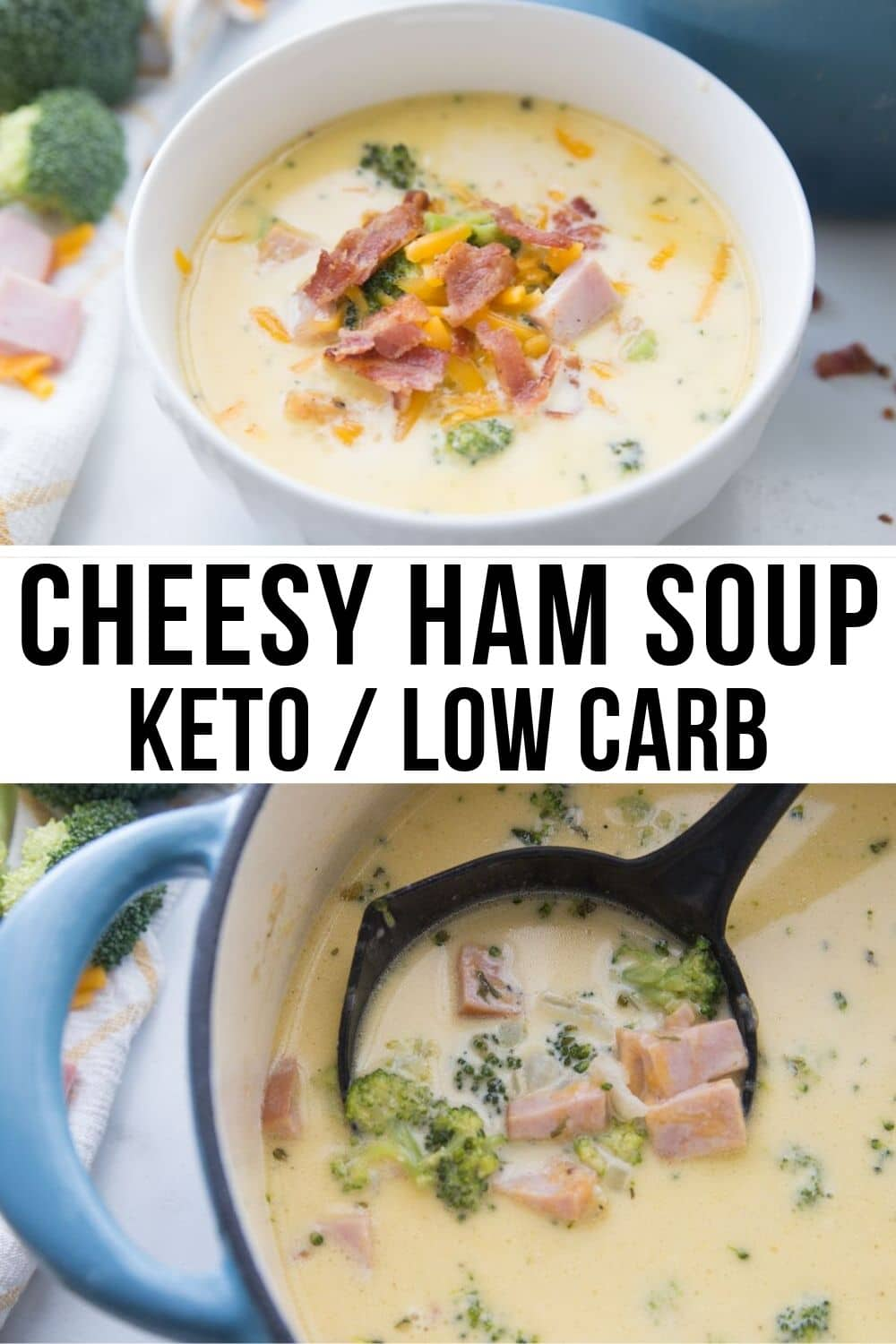 ham soup collage