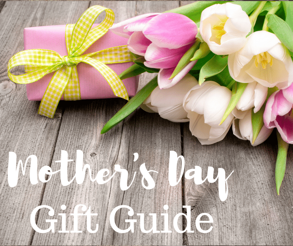 A picture of flowers and a gift for Mother\'s Day Gift Guide