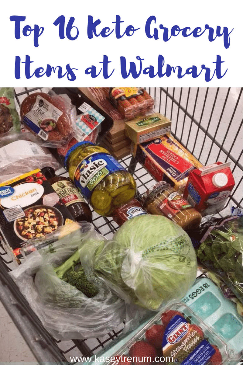 Check out these Top 16 Keto Walmart Grocery List Items for your Low Carb Journey. Find great items for your keto diet on sale and affordable at Walmart!