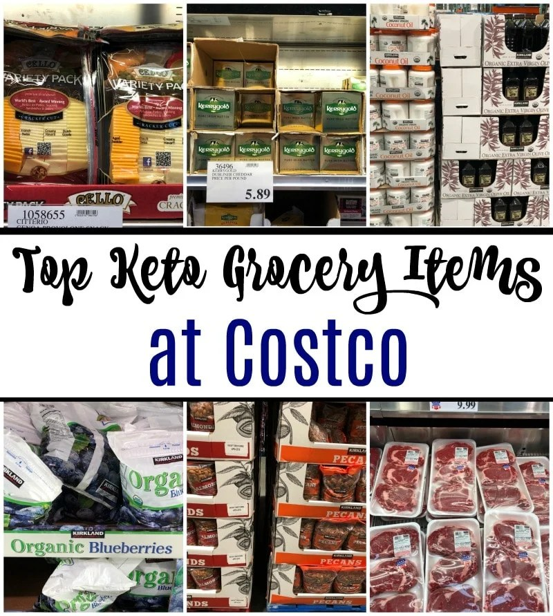 Top Keto Grocery Items at Costco - This is so helpful!