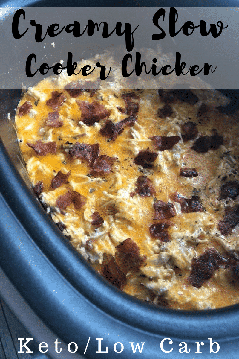 Slow Cooker Cheesy Chicken Recipe With Bacon Kasey Trenum