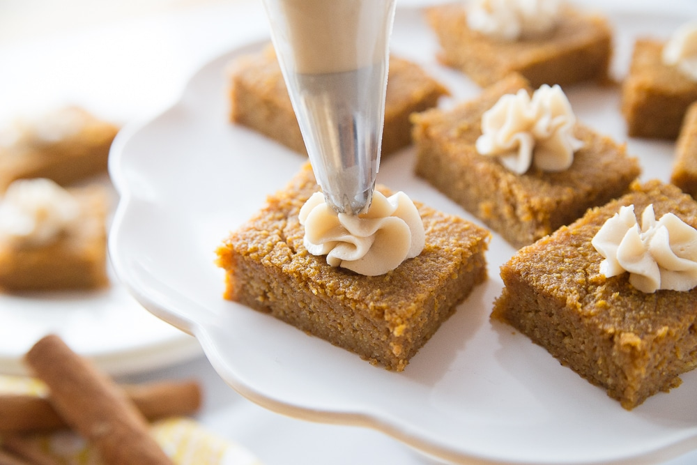 Keto Pumpkin Pie Bars are delicious and this Keto Dessert Recipe is just what you need to stay on track on your low carb diet plan! Keto dessert recipes aren't hard to make! This low carb dessert is a hit with everyone!