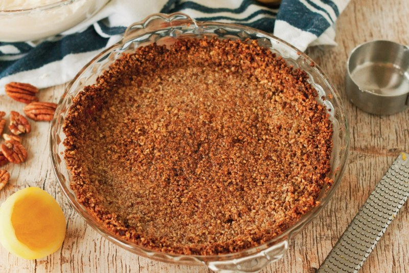 pecan and butter pie crust