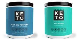 Collage Ketogenic Powder
