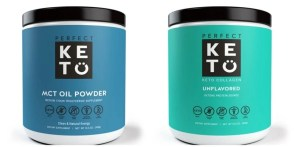 2 Perfect Keto products-Collagen and MCT powder