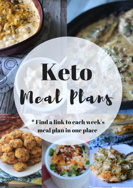 A collage of pictures of Keto Meal Plans