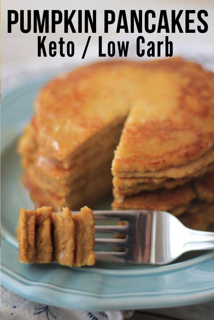keto diet pumpkin pancakes recipe