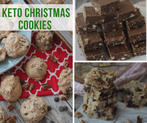 Check out this fantastic roundup of Keto Christmas Cookies, Bars and Candy recipes! You'll find a wide variety of Keto dessert recipes that will remind you of regular Christmas treats without all the carbs.#keto #lowcarb