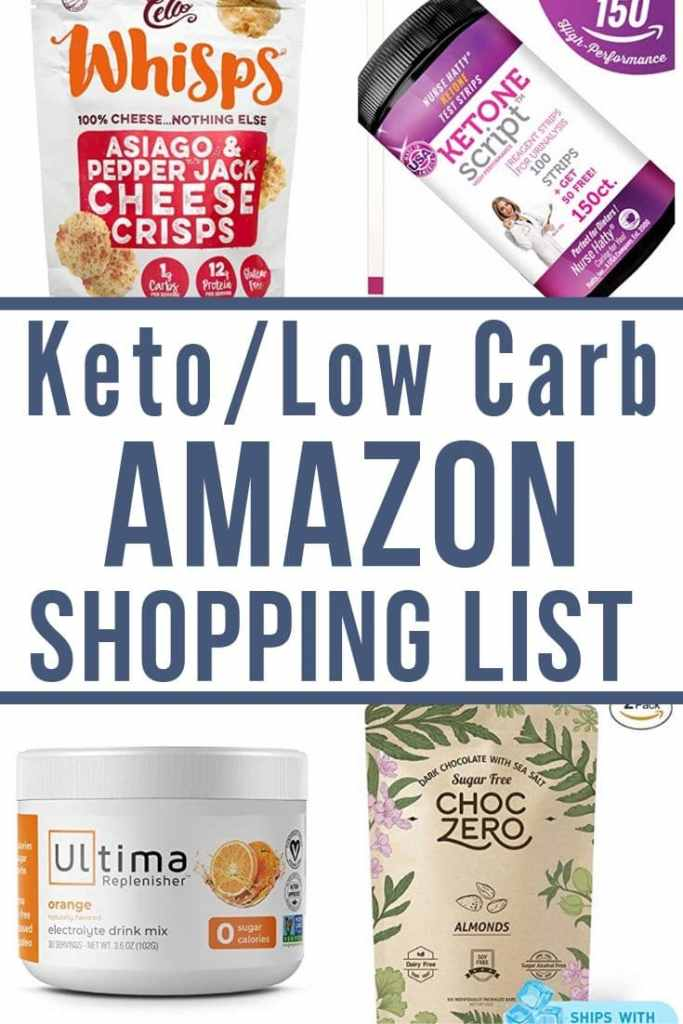 The Very Best Ultimate Amazon Keto List for Keto or Low Carb
