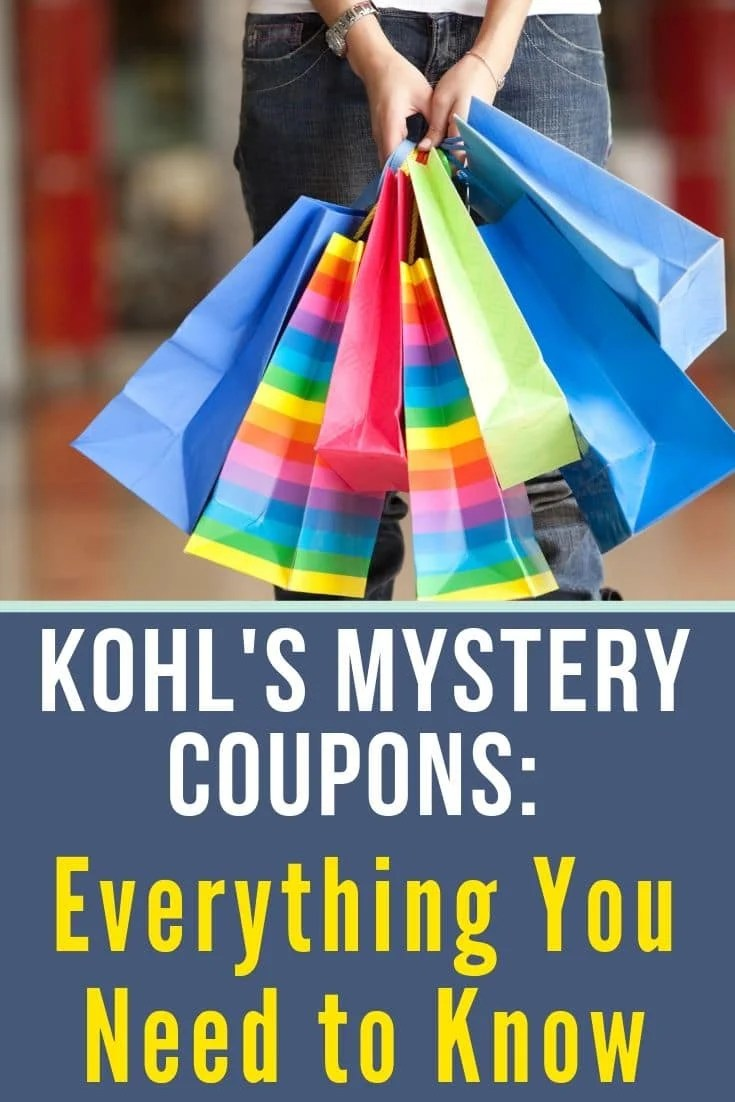 Kohl S Mystery Coupon Up To 40 Off For Everyone Kasey Trenum