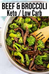 easy beef and broccoli keto recipe