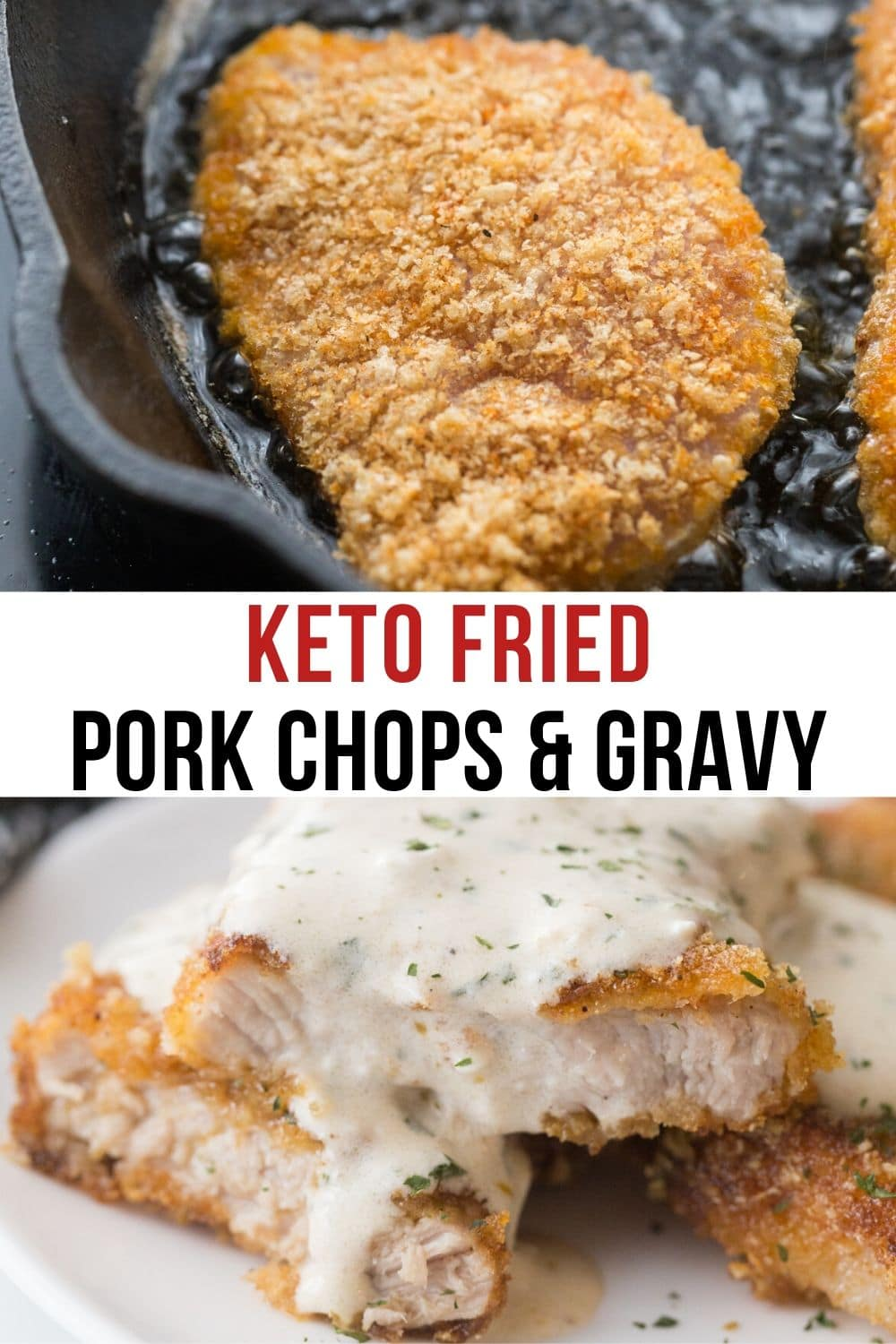 fried pork chops with gravy