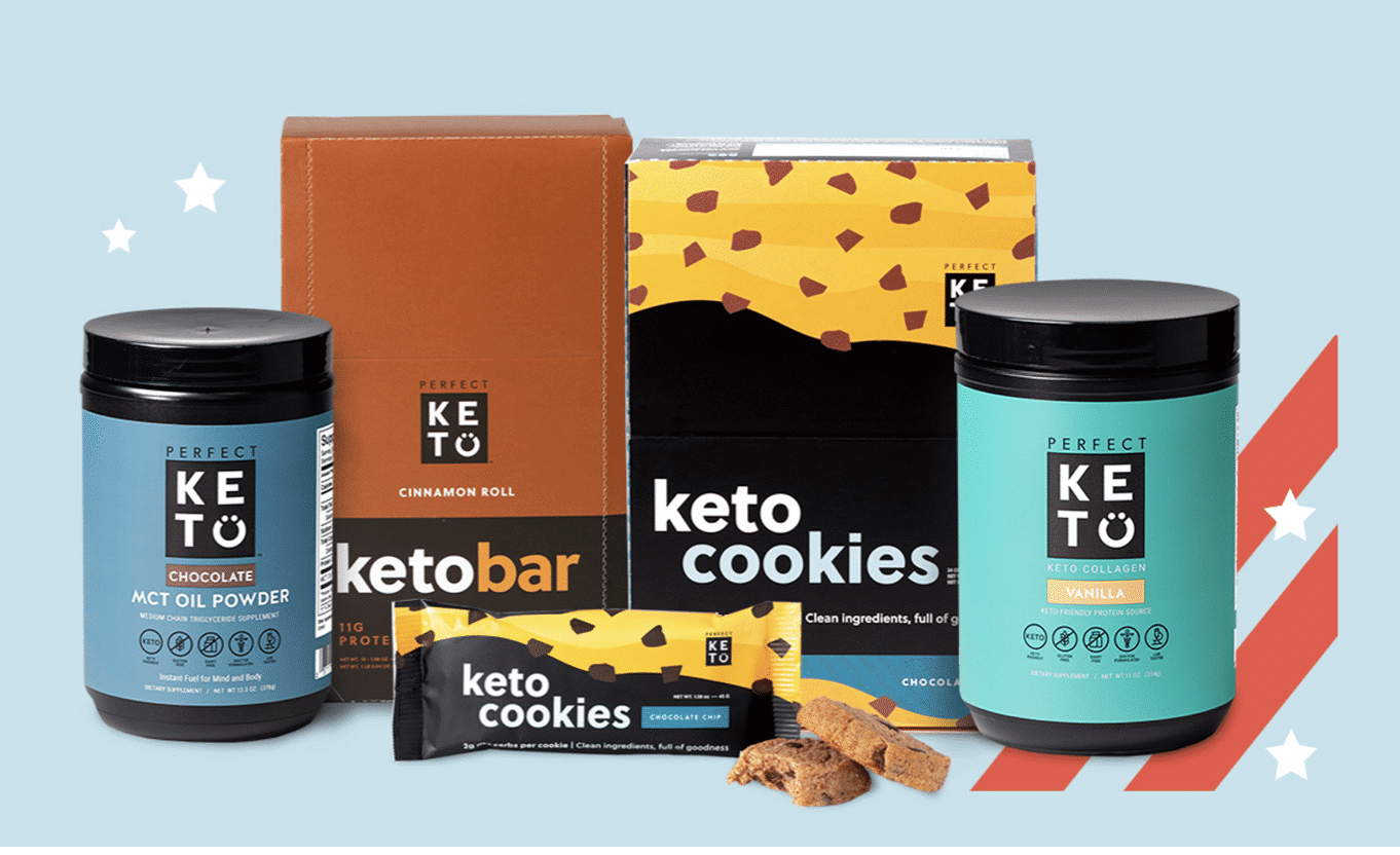 perfect keto products for Memorial Day sale