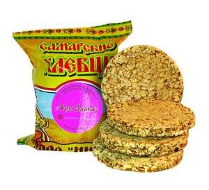 хлебцы Самарские -- три злака