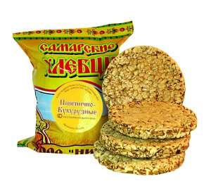 хлебцы Самарские -- пшенично-кукурузные