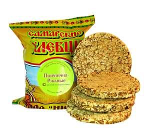 хлебцы Самарские -- пшенично-ржаные