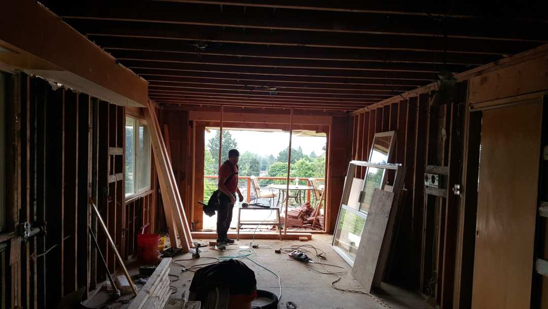 patio door framing