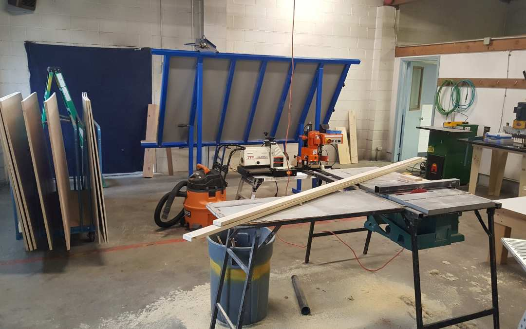 Kashas Design Build has it's own woodworking shop!