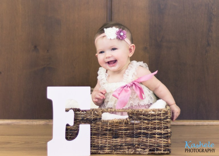 Baby Thomas' 6 Month Session | NSL Utah Family Photographer | Kashele Photography