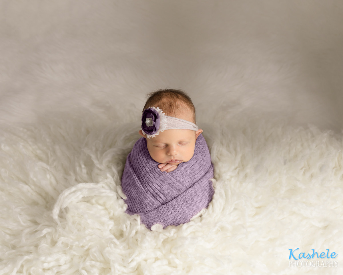 Potato Sack pose for Newborn Photography Cost Post