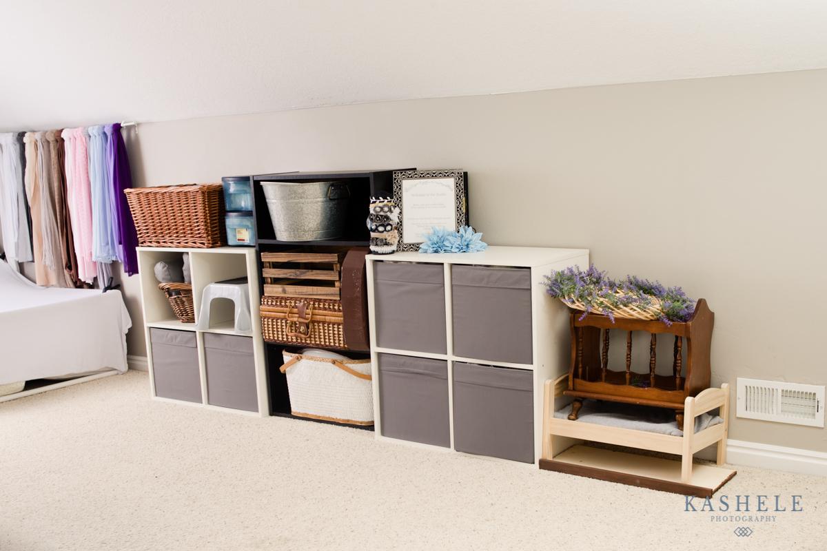 Image of prop storage for studio tour