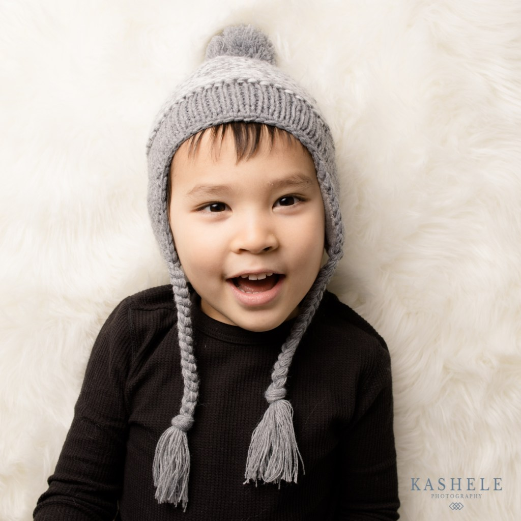 Earflap hat for Huggalugs Fall 2020 Line post